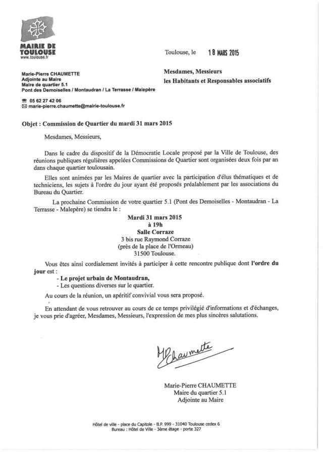 courrier invitation CdQ 31 mars1